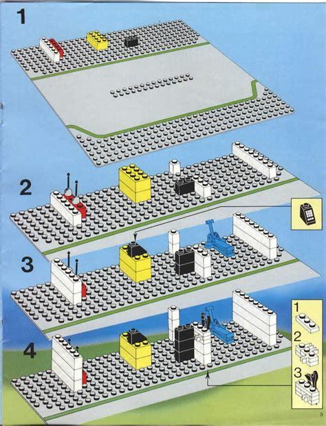 lego service station instructions  city