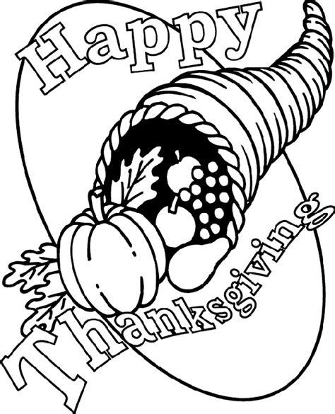 thanksgiving cornucopia coloring page crayolacom