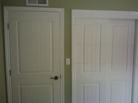 Beadboard Doors : Two Panel Interior Door And Closet Doors