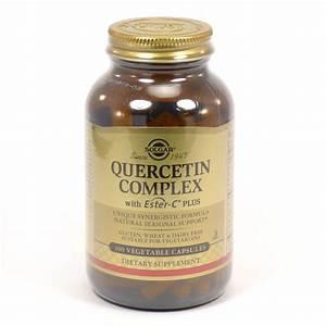 Quercetin Complex Vegetable Capsules By Solgar