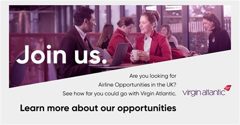 virgin atlantic careers airline opportunities   uk