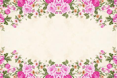 tren bunga undangan gambar bunga