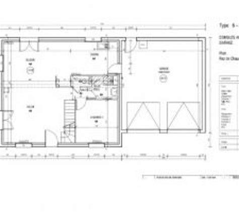 plan maison le masson type 6 creteil design