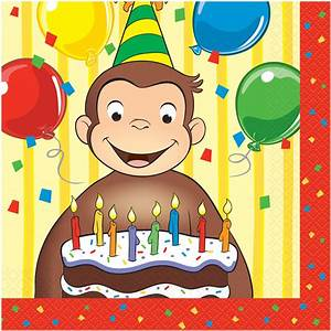 Curious George Party Hats, 8ct - Walmart.com