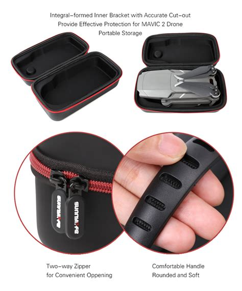 sunnylife mini carrying case dji mavic  pro zoom