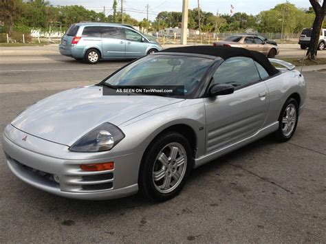 Mitsubishi Eclipse Spyder 2001 by 2001 Mitsubishi Eclipse Spyder Information And Photos