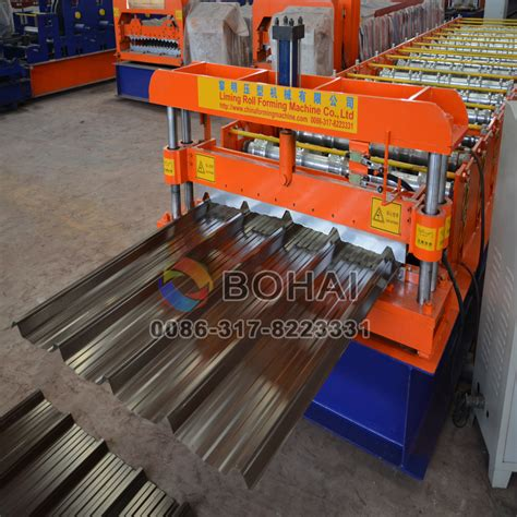 roll forming machine india energy efficient used metal roof panel roll forming