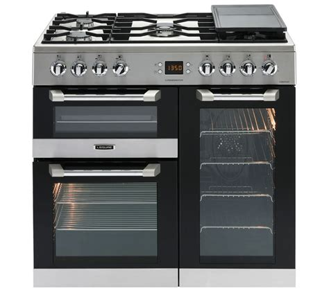 stoves dual fuel range cooker buy leisure cuisinemaster cs90f530x dual fuel range cooker stainless steel free delivery