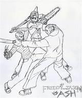 Jason Freddy Coloring Printable Krueger Ash Voorhees Draw Friday Myers Michael Sheets Minion Halloween Monster Sketch Deviantart Killer Oguchionyewu Aquaman sketch template