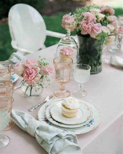 Shower Bridal Table Spring Hostess Cupcake Scape