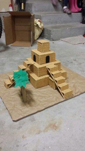 ziggurat model  school mesopotamia projects ancient