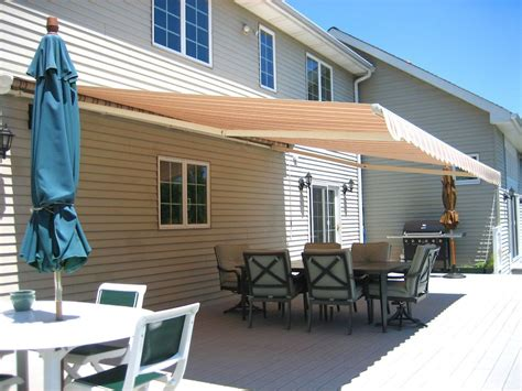 retractable awnings majestic awning  jersey awning outdoor architecture company