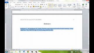 APA Reference Page YouTube APA Citation Examples Social Sciences Your Work Note That APA Uses What Is Called An In Text Citation How To Cite Citation Examples Tulib