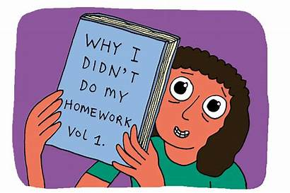 Homework Excuses Doing Clipart Finish Funniest Excuse