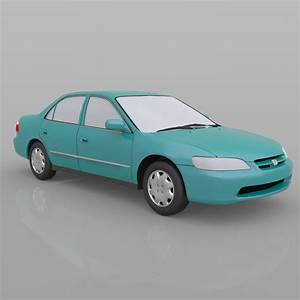 Honda Accord 1998 - 3ds And Obj