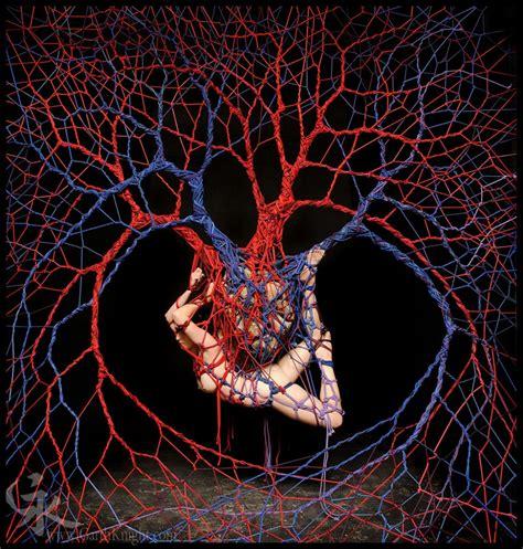 garth knight turns rope bondage  art   series