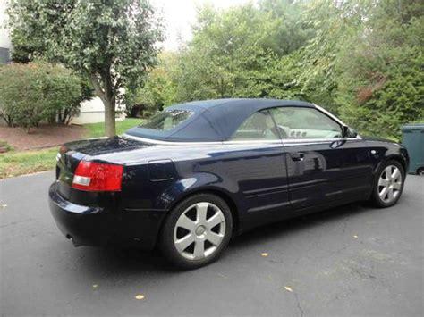 audi 4 door convertible find used 2006 audi a4 cabriolet convertible 2 door 1 8 t