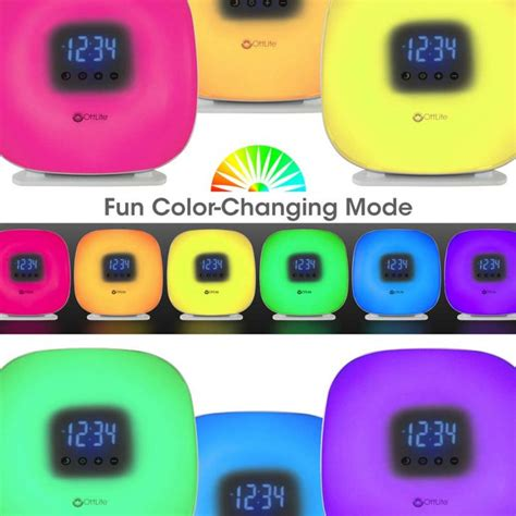full spectrum light alarm clock ottlite wake up your way light alarm clock giveaway