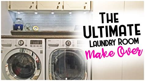 The Ultimate Laundry Room Makeover! Youtube