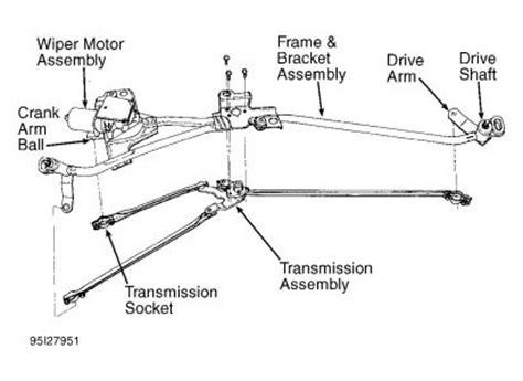 motor repair manual 2001 oldsmobile silhouette windshield wipe control 1995 other oldsmobile models windshield wiper motot other
