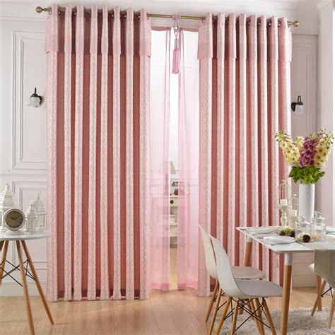 pink curtains for bedroom pink bedroom curtains for bedrooms or dining or 16737