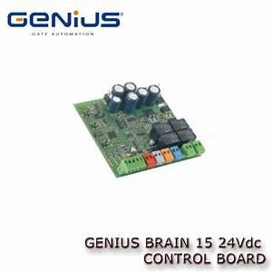 Genius Brain15 Control Panel