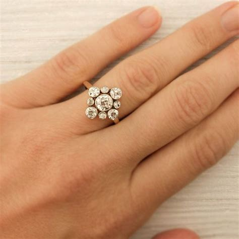 cluster engagement rings best 25 cluster engagement rings ideas on cluster engagement ring pretty