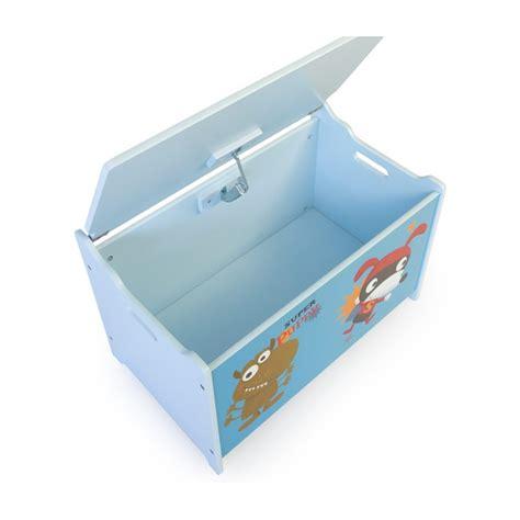 coffre chambre coffre à jouets en bois meuble chambre enfant motif