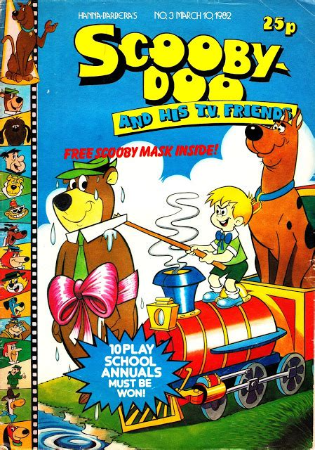 STARLOGGED - GEEK MEDIA AGAIN: 1982: SCOOBY DOO AND HIS T ...