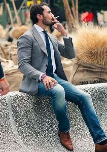Grey sport coat with jeans. Yea or nay?  malefashionadvice