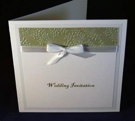 Wedding Invitation Bespoke Handcrafted Wedding Invitation