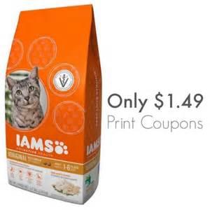 Iams Cat Food Coupons Printable