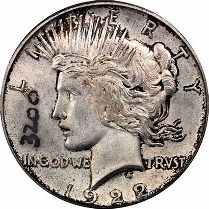 Dollar 1922 Peace Relief Silver Value 1921