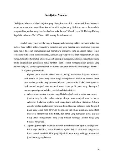 Sistem Moneter (Bab 29 dan 30)