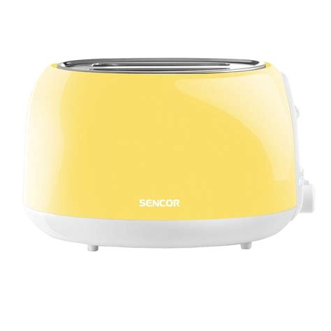 Yellow Toaster by Sencor 2 Slice Pastel Yellow Toaster Sts36yl Naa1 The