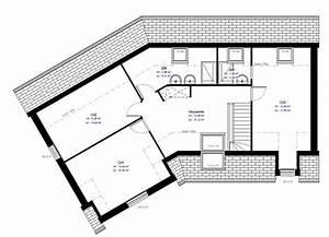 Plan Maison A Etage : maison individuelle 80 ~ Melissatoandfro.com Idées de Décoration