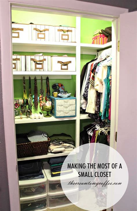 17 best ideas about small closet storage on