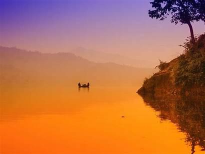 Nepal Lake Begnas Wallpapergeeks