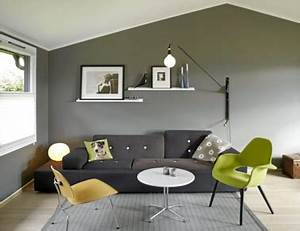 Salon Vert De Gris : d co salon gris id es couleur et photo pour s 39 inspirer ~ Melissatoandfro.com Idées de Décoration