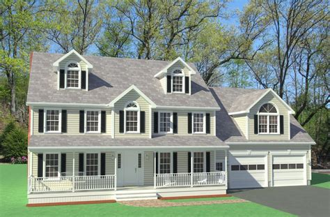 Colonial Home Design Ideas by Farmers Porch Colonial Home Design Westford House Plans