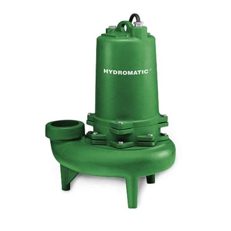 hydromatic hydromatic s3w100m6 2 submersible sewage 1 hp 208v 3ph manual 20 cord