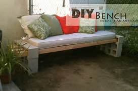 Outdoor Patio Furniture With Bench Seating by DIY Outdoor Bench In Less Than An Hour
