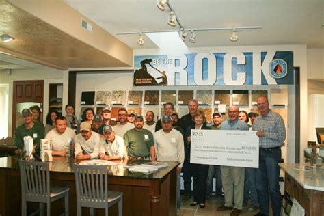 Rocky Mountain Stone Donates $3,54500 To The Rock At