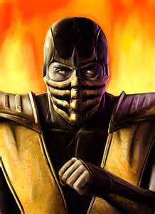 Mortal Kombat Scorpion Eyes