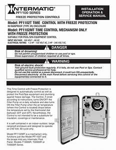 Intermatic Pool Timer Instructions
