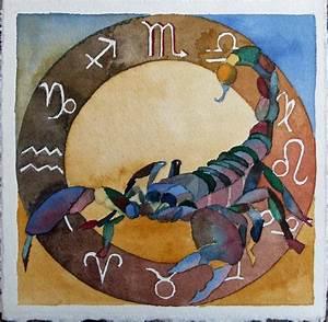 Was Für Ein Sternzeichen : tierkreiszeichen skorpion bilder aquarelle vom meer mehr von frank koebsch ~ Markanthonyermac.com Haus und Dekorationen