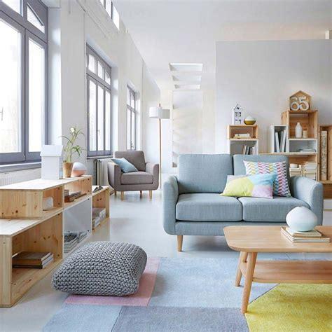canapé desing décoration salon nordique