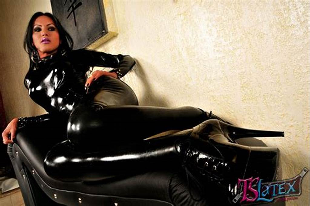 #Luciana #Foxx #In #Latex