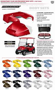 Club Car Precedent Body Kits By Double Take  Factory    Oem