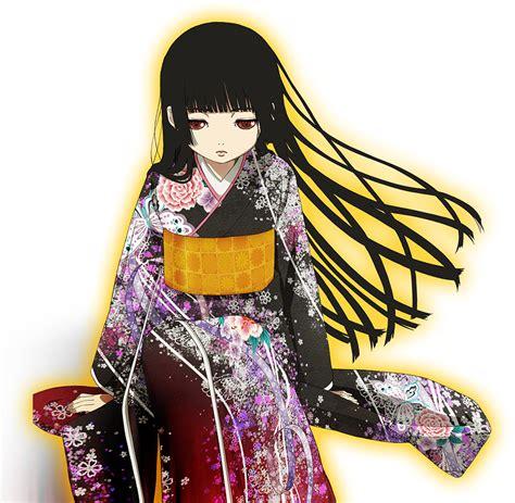 anime kimono render